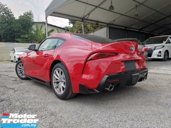 2019 TOYOTA SUPRA SZ 2.0 TURBO RED LOW MILEAGE JAPAN SPEC OFFER