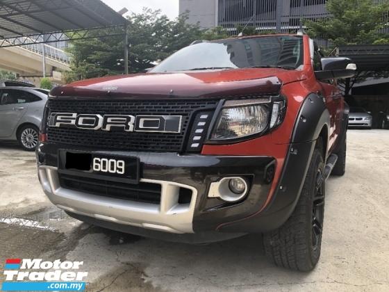 2014 FORD RANGER XLT Wild Track 3.2 2014 facelift