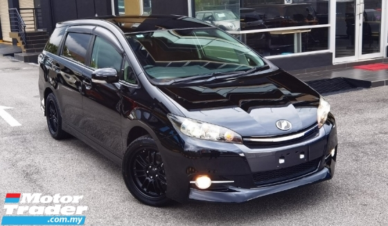 2017 TOYOTA WISH 2016 TOYOTA WISH 1.8 S JAPAN SPEC CAR SELLING PRICE ONLY ( RM 112,000.00 NEGO ) BLUE COLOR ( 29855 )
