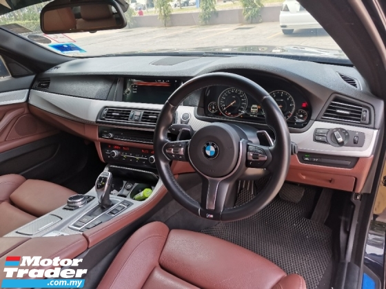 2014 BMW 5 SERIES 528i New FaceLift Japan Spec* Genuine Mileage* Excellent Condition* No Repair Needed