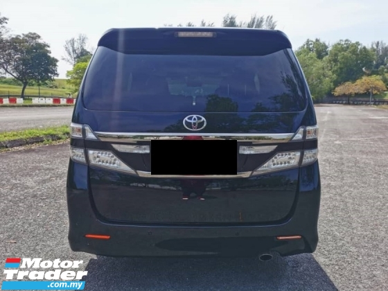 2012 TOYOTA VELLFIRE 2.4 GOLDEN EYES FACELIFT (A) SUNROOF , POWER BOOT
