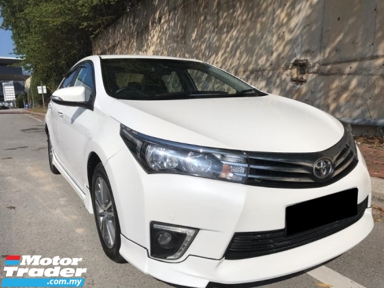 2015 TOYOTA COROLLA ALTIS 1.8 G WELL MAINTAIN CAR  9/10 CAN FULL LOAN OTR
