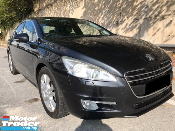 2014 PEUGEOT 508 1.6 PREMIUM FULL SPEC EXECUTIVE SEDAN HIGH LOAN