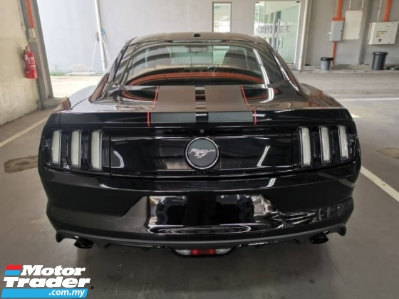 2017 FORD MUSTANG 2.3 ECOBOOST UNREGISTER
