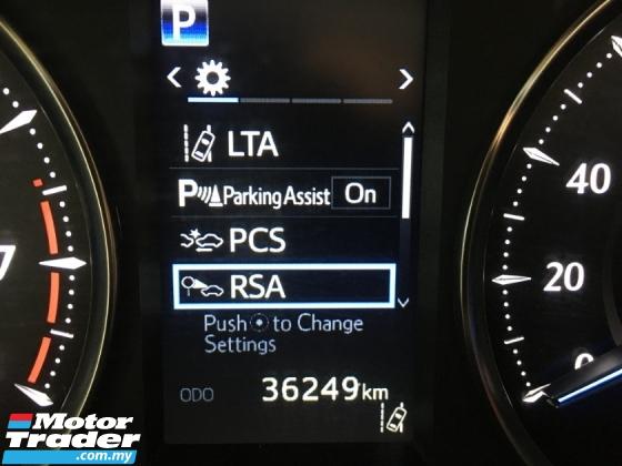 2018 TOYOTA VELLFIRE 2.5 V LARGE MPV 8 SEAT 2 POWER DOOR n BOAT P/CRASH