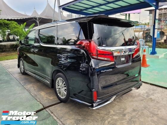 2019 TOYOTA ALPHARD 2.5 SC Pre Crash LKA Unregistered