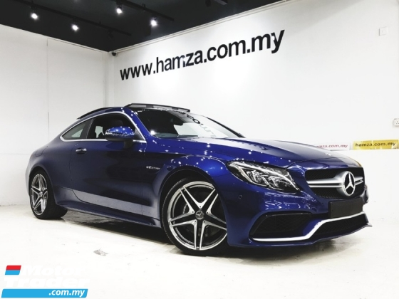 2016 MERCEDES-BENZ C-CLASS C63 COUPE 4.0 V8 BITURBO