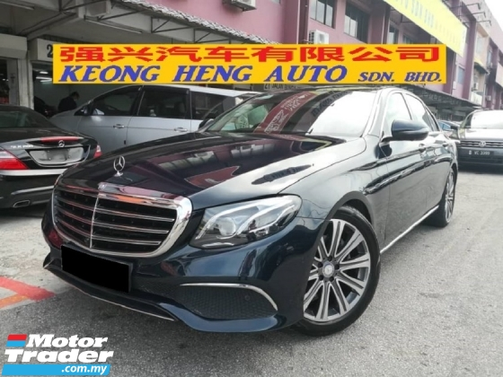 2016 MERCEDES-BENZ E-CLASS E250 W213 New Model TRUE YEAR MADE 2016 Exclusive Mil 49k km only Full Service Cycle Carriage