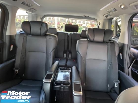 2018 TOYOTA ALPHARD Unreg Toyota Alphard SC 2.5 360VIEW Cam Power Boot Push Start 7Speed