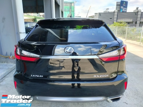 2016 LEXUS RX 200T Luxury Sun Roof 4Cam Leather PCS LKA HUD BSM PB Unregister