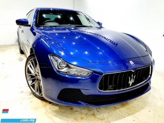 2017 MASERATI GHIBLI 3.0L V6 Twin turbo 330 hp