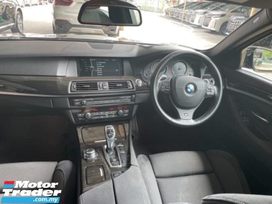 2014 BMW 5 SERIES Unreg BMW 520I M Sport 2.0 Turbo Engine Camera Push Start Paddle Shift 8Speed M Sport