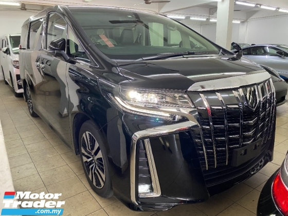 2020 TOYOTA ALPHARD 2.5 SC Facelift 3LED UNREG Pilot Leather Seat
