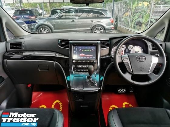 2013 TOYOTA VELLFIRE Toyota VELLFIRE 2.4 GS EDITION S/ROOF 7SEAT WRRNTY