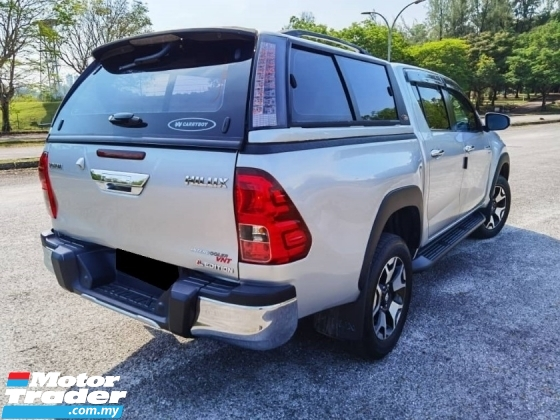 2018 TOYOTA HILUX 2.8 L EDITION FACELIFT FULL SERVICE RECORD UNDER WARRANTY TOYOTA UNTIL 2023 CANOPY SURROUND CAMERA