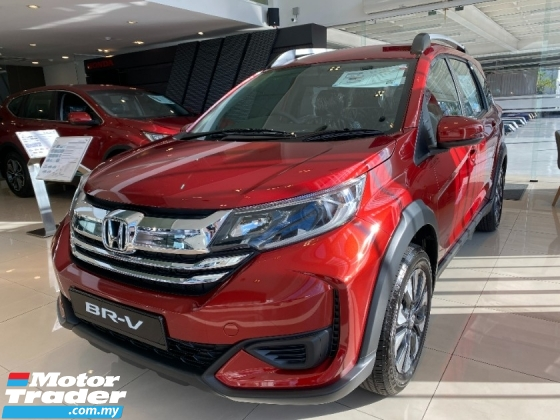 2021 HONDA BR-V  HIGHT REBATE RM 2000 + RM 2000 ACCESSERIOS VOUCHER + OVER TRADE HIGHT LOAN AMOUNT LOW INTEREST RATE
