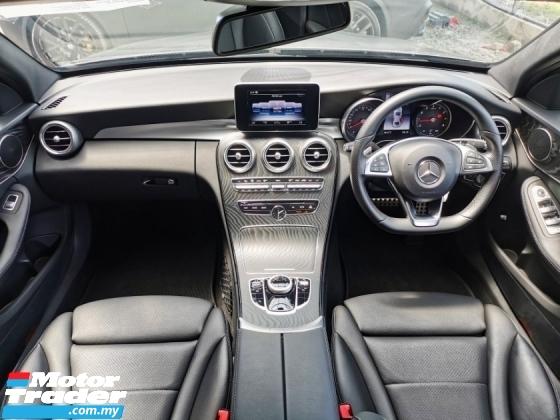 2017 MERCEDES-BENZ C-CLASS Mercedes Benz C200 2.0 (A) AMG SPORT UNREGISTER