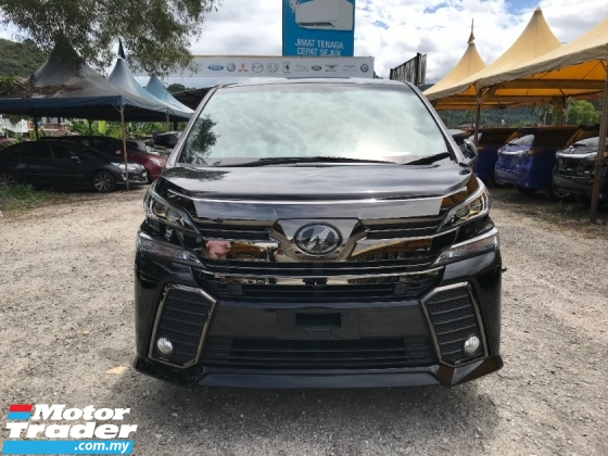 2017 TOYOTA VELLFIRE 2.5 Z GOLDEN EYES  , CHEAP CHEAP OFFER GRAB NOW !!