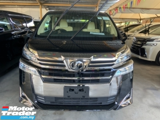2018 TOYOTA VELLFIRE 2.5 X surround camera power boot 8 seaters 3 years Warranty Unregistered