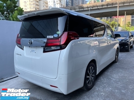 2017 TOYOTA ALPHARD 2.5 G SPEC (PROMOTION PRICE) POWER BOOT MEMORY SEATS 8 SEATER UNREG