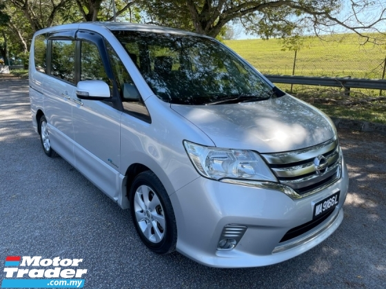 2014 NISSAN SERENA 2.0 S HYBRID HIGHWAY STAR (A) Full Leather Seat