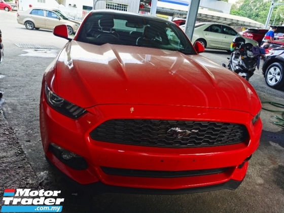 2017 FORD MUSTANG FORD MUSTANG 2.3 ECOBOOST SHAKER SOUND LIKE NEW REAR ORI SPOILER CAMERA 2017 UNREG