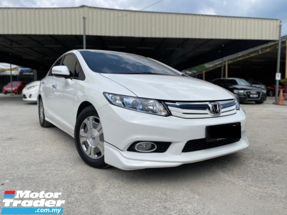 2013 HONDA CIVIC 1.5 (HYBRID) 1 OWNER MUST VIEW WITH DESMOND