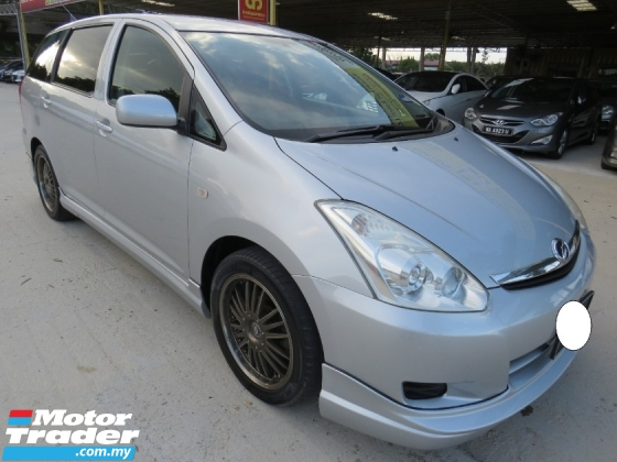 2010 TOYOTA WISH 1.8 (A) S ONE OWNER ACCIDENT FREE HIGH LOAN L/NEW