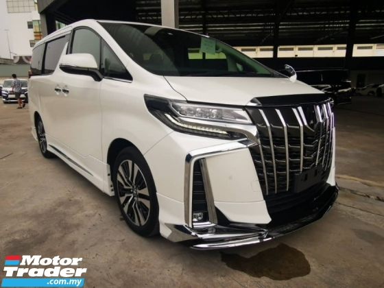 2018 TOYOTA ALPHARD 2.5 SC With Original Modelista Bodykit - JP Unreg