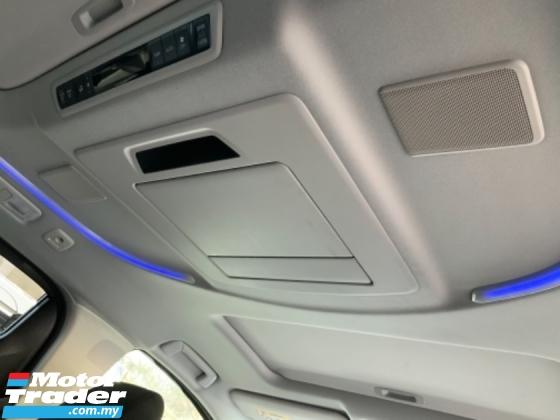 2016 TOYOTA ALPHARD 2.5 SA Sunroof JBL theatre surround camera power boot Unregistered