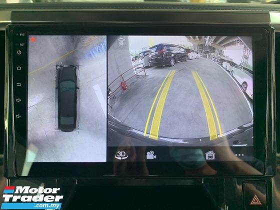 2017 TOYOTA ALPHARD 2.5 SC Unreg Pilot Seat Android 360 Camera Monitor