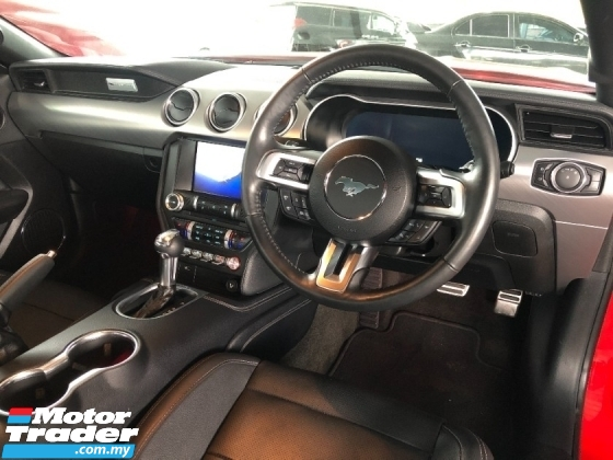 2019 FORD MUSTANG New Facelift 2.3 Turbo B&O Surround 10 Speed Transmission Digital Meter Keyless Paddle Shift Unreg