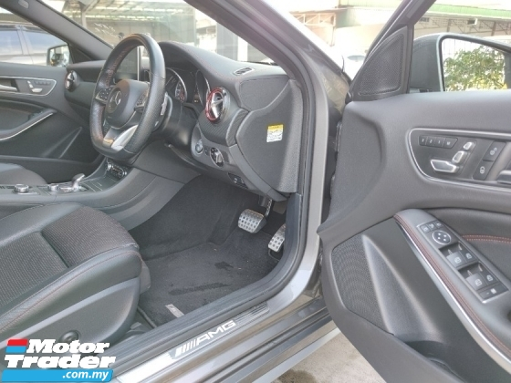 2016 MERCEDES-BENZ A45 AMG 4Matic Facelift Model Pre Crash LKA BSM Unreg