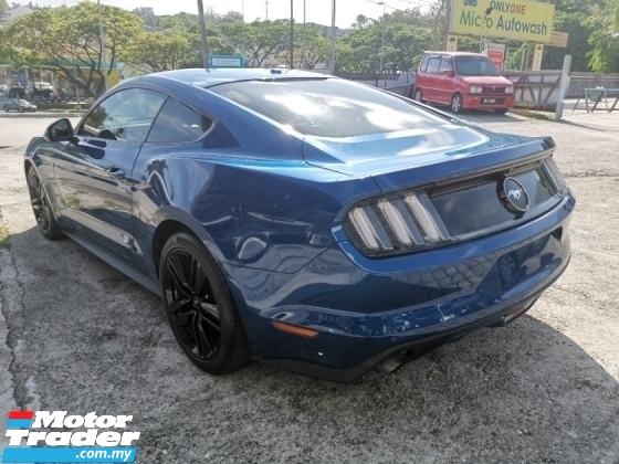 2018 FORD MUSTANG 2.3 Eco Boost Coupe Unregister Recon