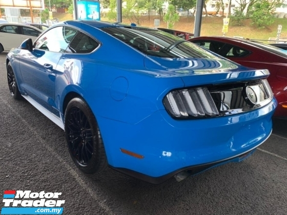 2018 FORD MUSTANG 2.3 Ecoboost Coupe UNREG Baby Blue Shaker 310hp