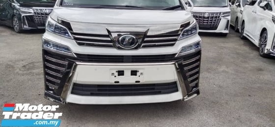 2018 TOYOTA VELLFIRE 2.5 ZG WITH Sunroof spec & Triple LED