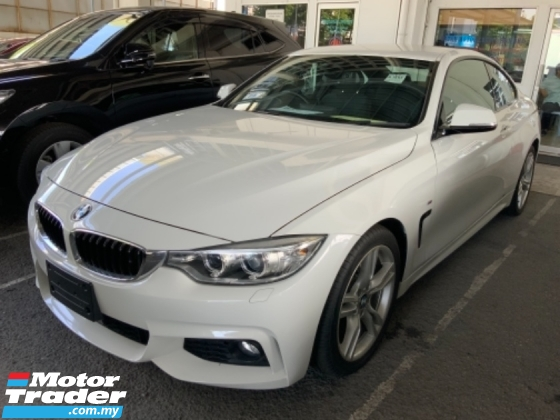 2015 BMW 4 SERIES 420i M sport package Alcantara seats Japan spec nice condition Unregistered