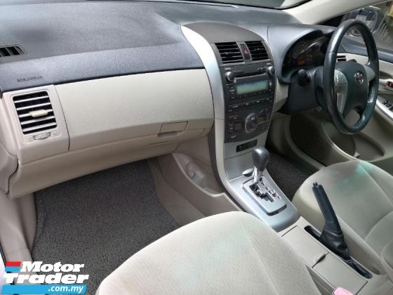 2011 TOYOTA COROLLA ALTIS Toyota Altis 1.8 E DUAL VVTI (A) FACELIFT VVIP