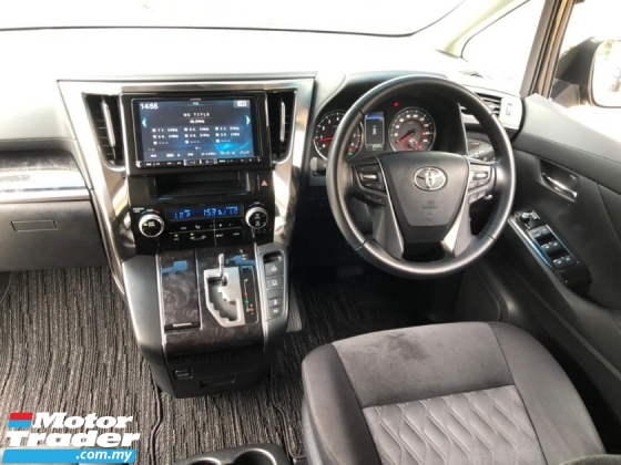 2018 TOYOTA VELLFIRE 2.5 FACELIFT 4 CAMERA POWER BOOTH PRE CRASH LANE KEEPING 2018 JAPAN UNREG FREE 3 YRS GMR WARRANTY