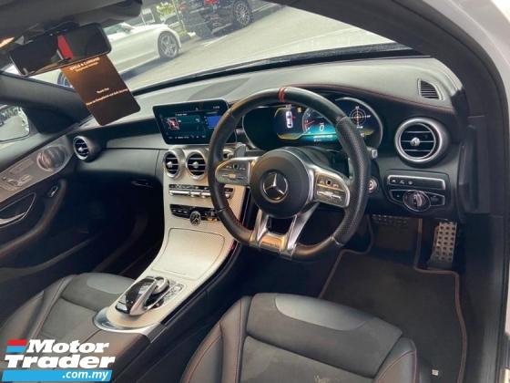 2019 MERCEDES-BENZ C-CLASS C43 AMG 4MATIC 3.0 V6 BI TURBO FACELIFT MODEL