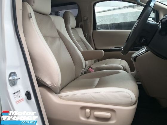 2014 TOYOTA VELLFIRE 3.5 VL PREMIUM MADE 2014 (( FREE 2 YEARS WARRANTY )) Pilot Seat Modelister Kits Home Theater