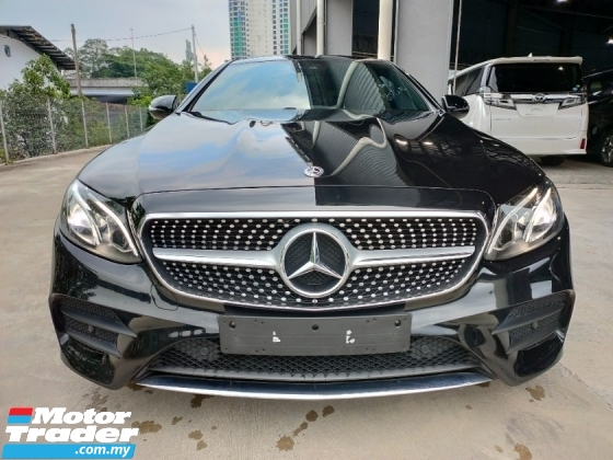 2018 MERCEDES-BENZ E-CLASS E300 2.0 Coupe AMG Premium Panaromic Roof Power Boot Leather UK Unregister