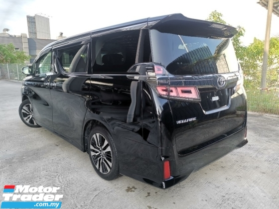 2018 TOYOTA VELLFIRE 2.5 ZG CHEAPEST OFFER IN TOWN BEST UNREG