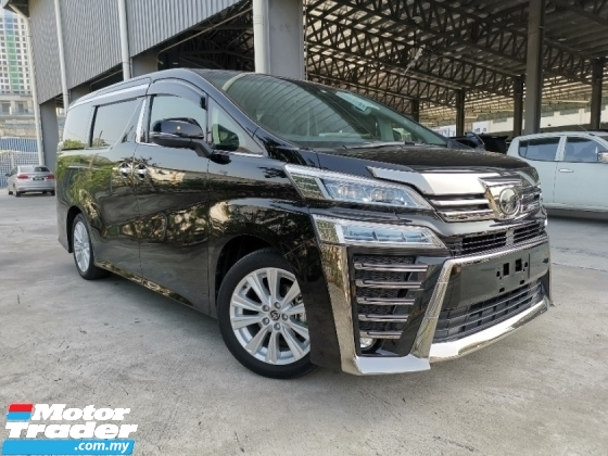 2018 TOYOTA VELLFIRE 2.5 Z SUNROOF LEATHER COVER ANDROID UNREG