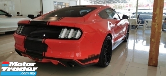 2016 FORD MUSTANG 2.3 ECOBOOST / REAR COLOUR BODY / LOW MILEAGE TIPTOP UNIT