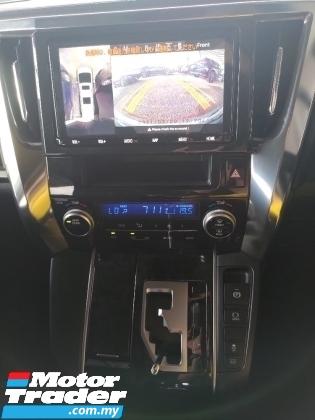 2019 TOYOTA ALPHARD 2.5 S PRE CRASH SYSTEM LANE ASSIST SENSOR DVD MONITOR POWER BOOT 360 CAM FREE 3 YEARS WARRANTY