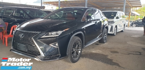 2018 LEXUS RX 300 F SPORT 4WD 3 LED NO HIDDEN COST