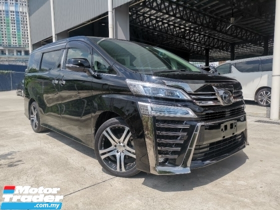 2018 TOYOTA VELLFIRE 2.5 ZG BLACK 2LED CHEAPEST OFFER UNREG LOW MILEAGE