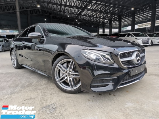 2018 MERCEDES-BENZ E-CLASS E300 AMG COUPE RED/BLACK SEAT PANROOF UK UNREG