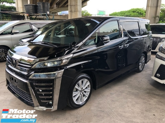 2018 TOYOTA VELLFIRE 2.5 New Facelift Z Edition 7 Seat 360 Camera Power Boot 2 Power Door Pre Crash Lane Departure Assist